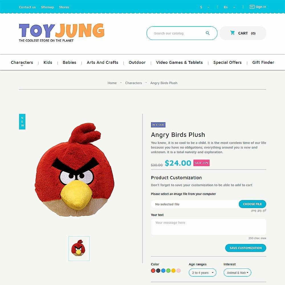 theme - Дети и Игрушки - ToyJung - шаблон детских игрушек - 3