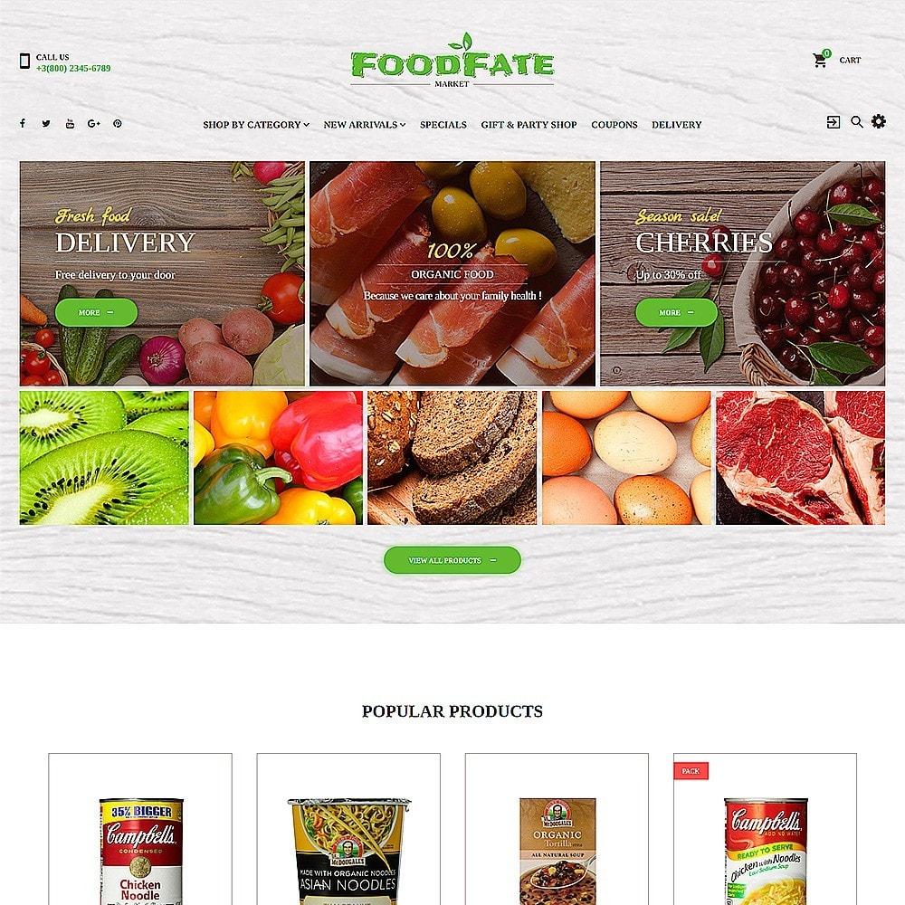 theme - Eten & Restaurant - FoodFate - Supermarket - 2