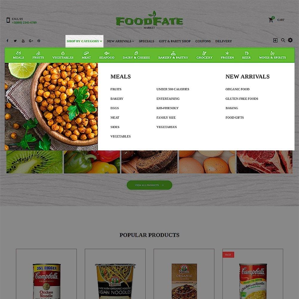 theme - Food & Restaurant - FoodFate - Supermarket - 4