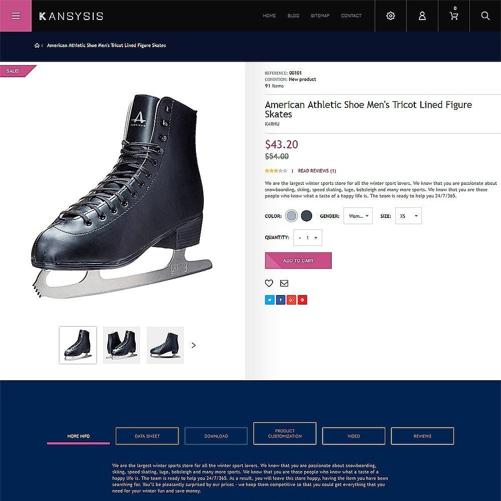 theme - Sport, Loisirs & Voyage - Kansysis - Vêtements et équipement sporti - 3