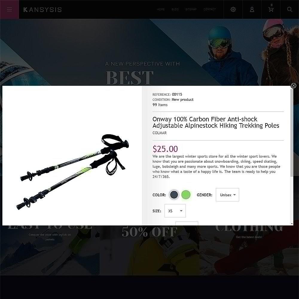 theme - Спорт и Путешествия - Kansysis - шаблон магазина спортивной одежды - 6