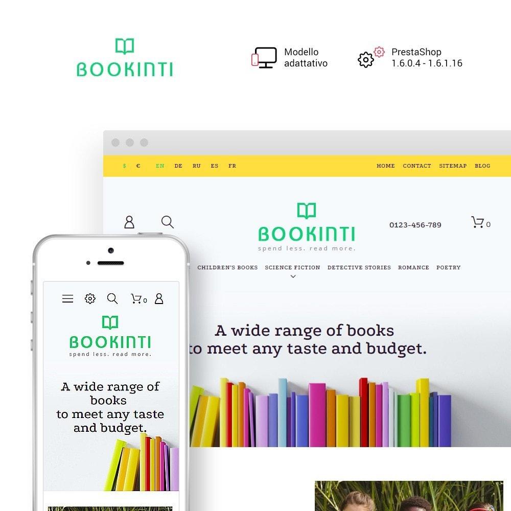 theme - Arte & Cultura - Bookinti - Book Store - 1