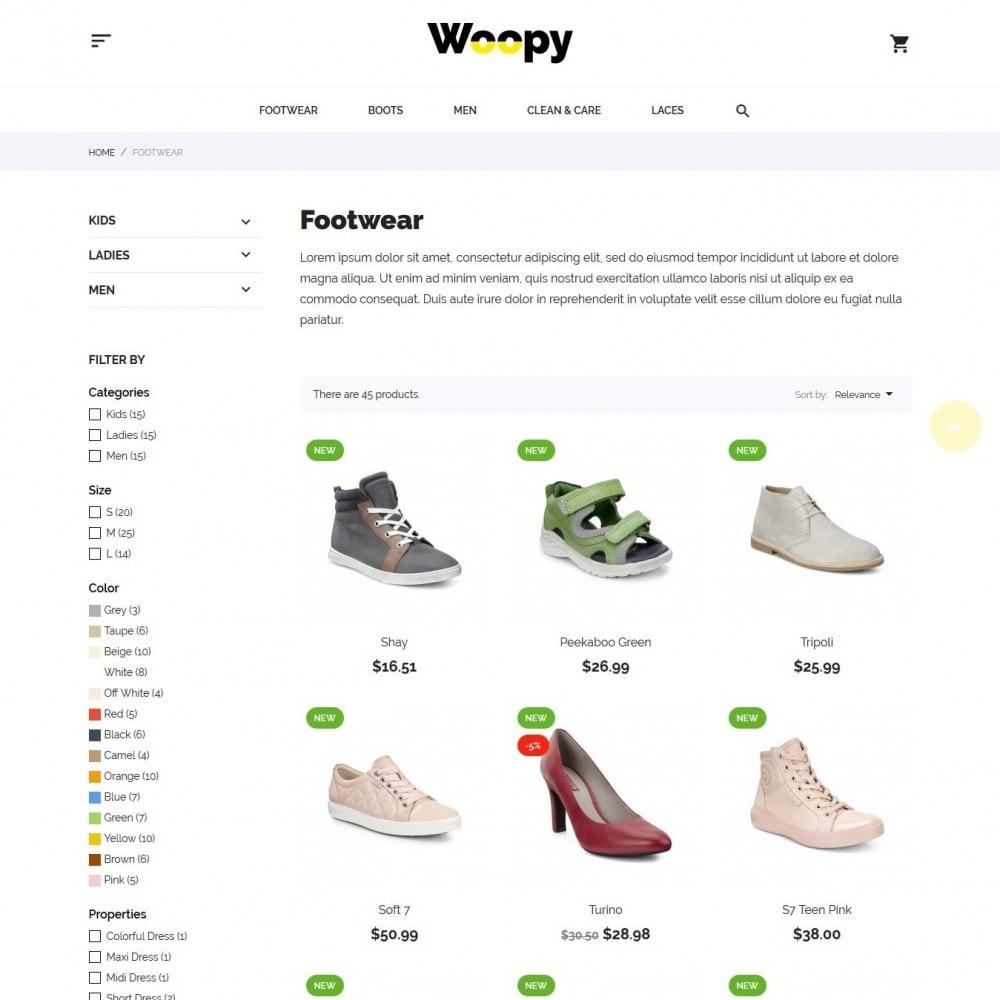 theme - Мода и обувь - Woopy Shop - 5
