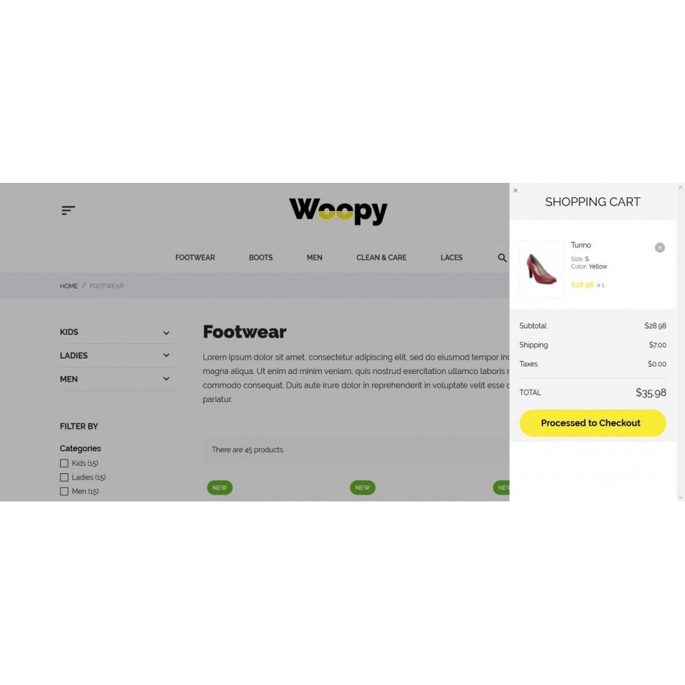 theme - Mode & Chaussures - Woopy Shop - 11