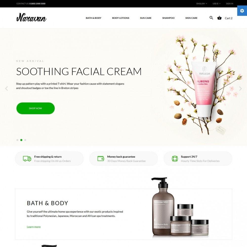 theme - Salud y Belleza - Naravan Cosmetics - 2