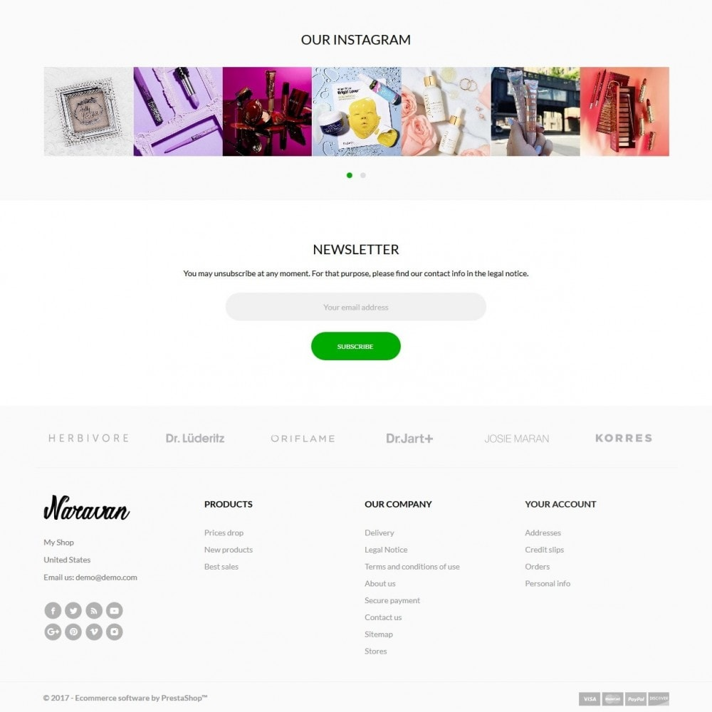 theme - Zdrowie & Uroda - Naravan Cosmetics - 4
