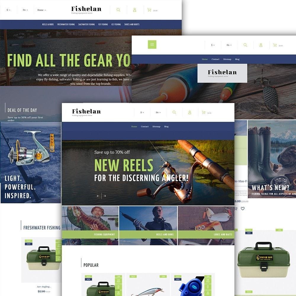 theme - Desporto, Actividades & Viagens - Fishelan - Fishing Equipment - 2