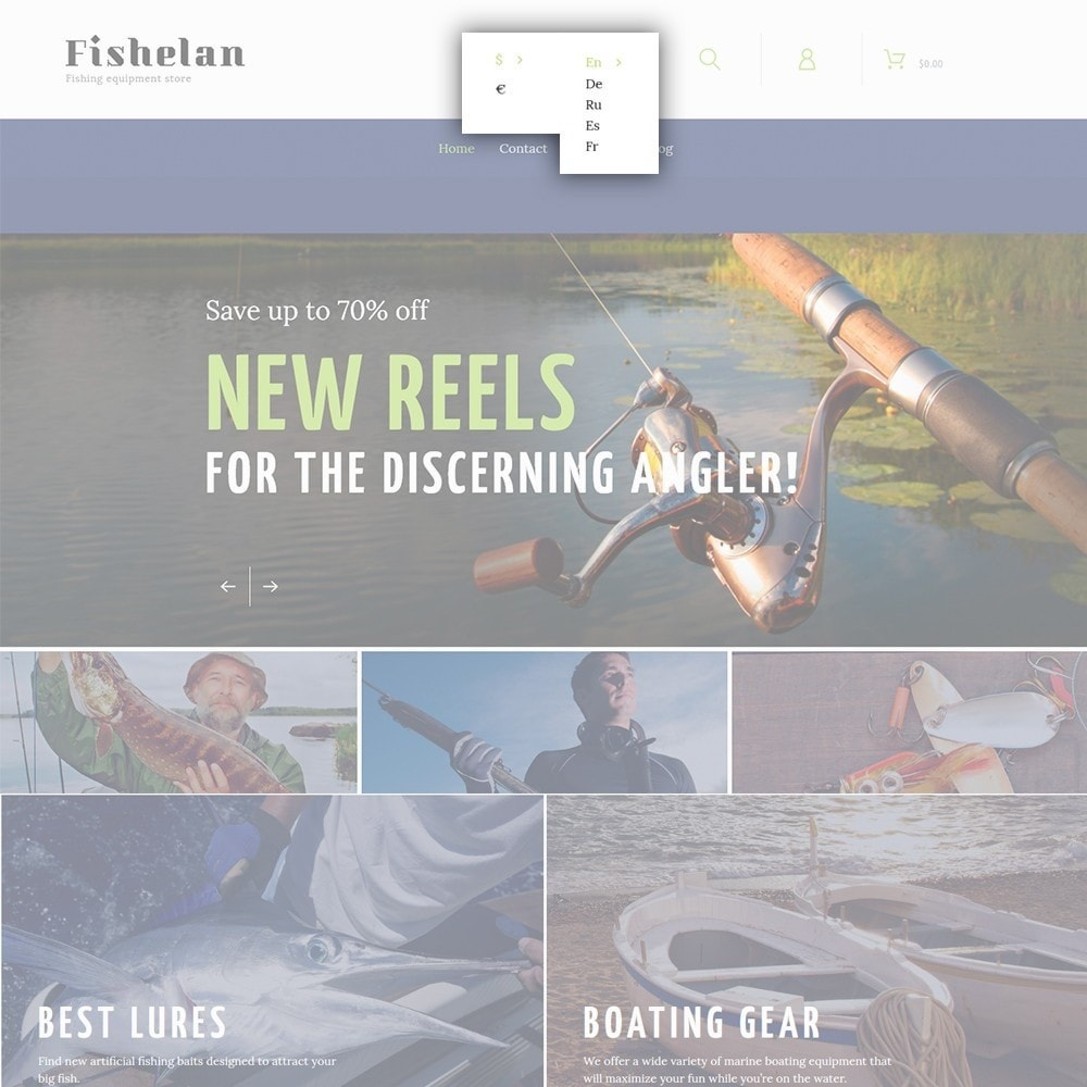 theme - Sport, Attività & Viaggi - Fishelan - Fishing Equipment - 6