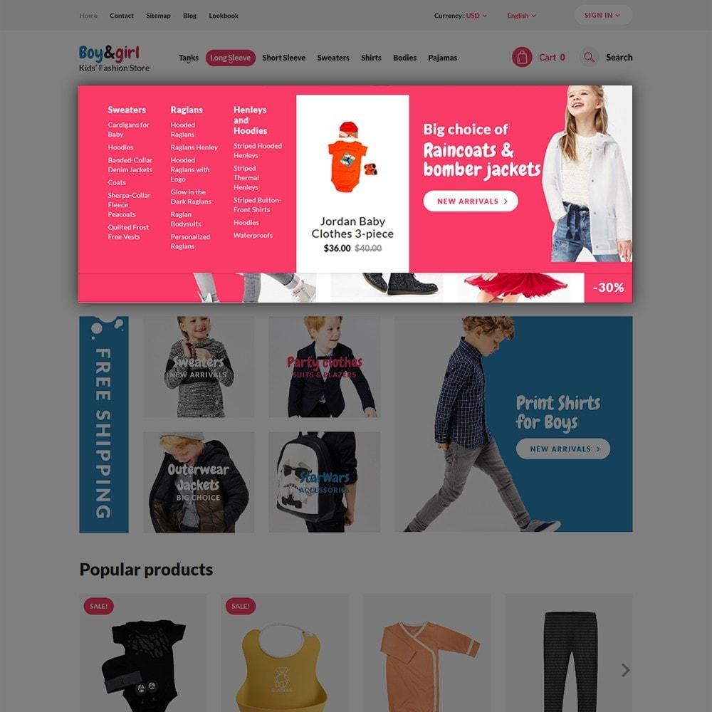 theme - Huis & Buitenleven - Boy&Girl - Kids Fashion Responsive - 4