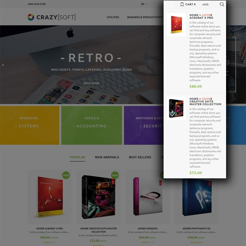 theme - Elettronica & High Tech - Crazy Soft - 7
