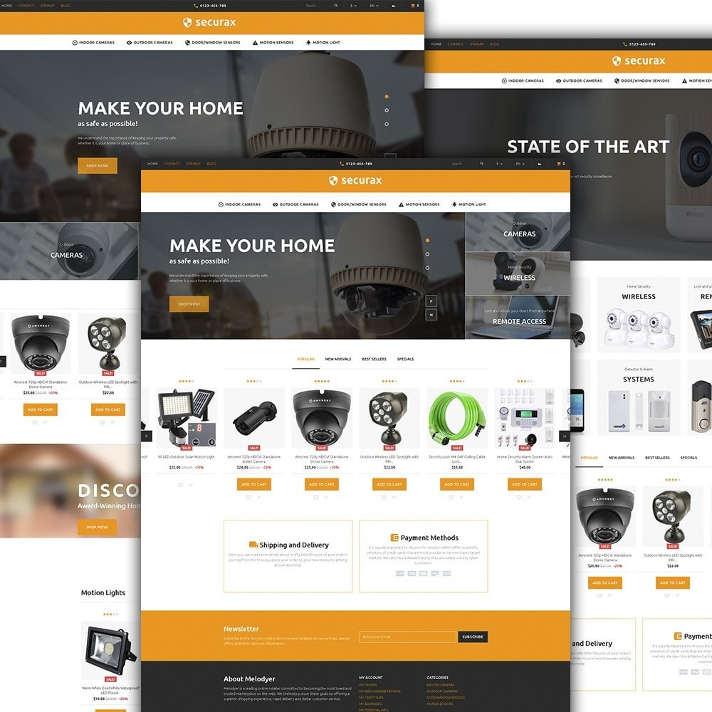 theme - Home & Garden - Securax - Security Systems Responsive - 2