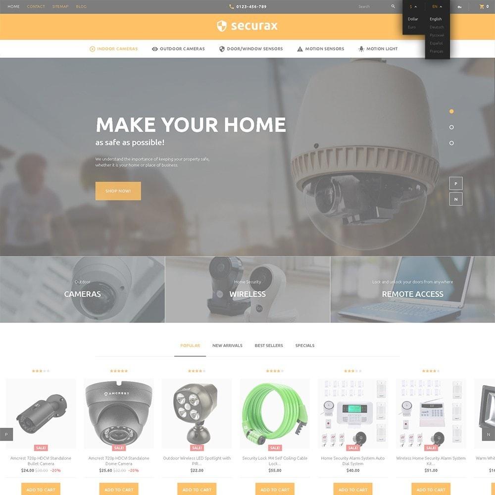 theme - Дом и сад - Securax -  шаблон на тему систем безопасности - 6