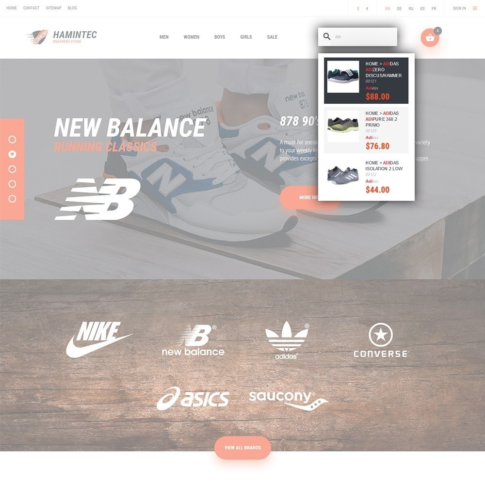 theme - Mode & Schoenen - Hamintec - Sneakers Store - 6
