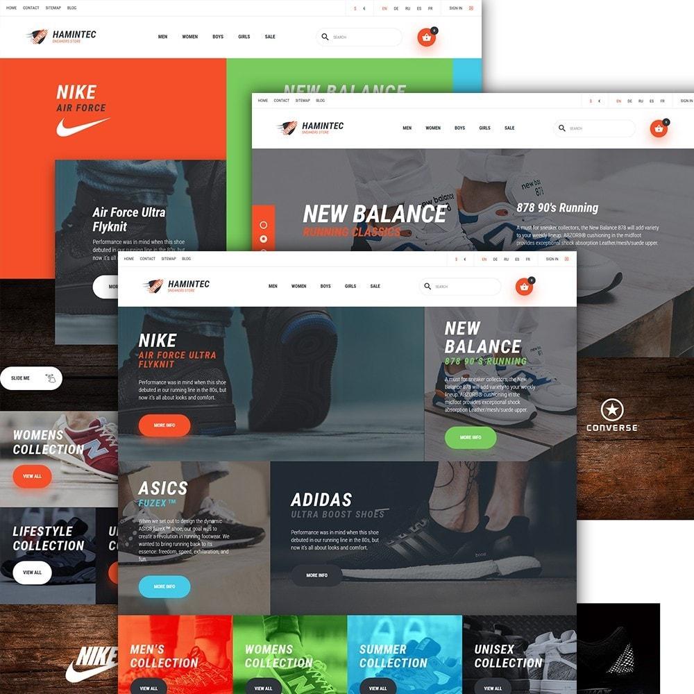 theme - Мода и обувь - Hamintec - шаблон на тему интернет-магазин кроссовок - 2