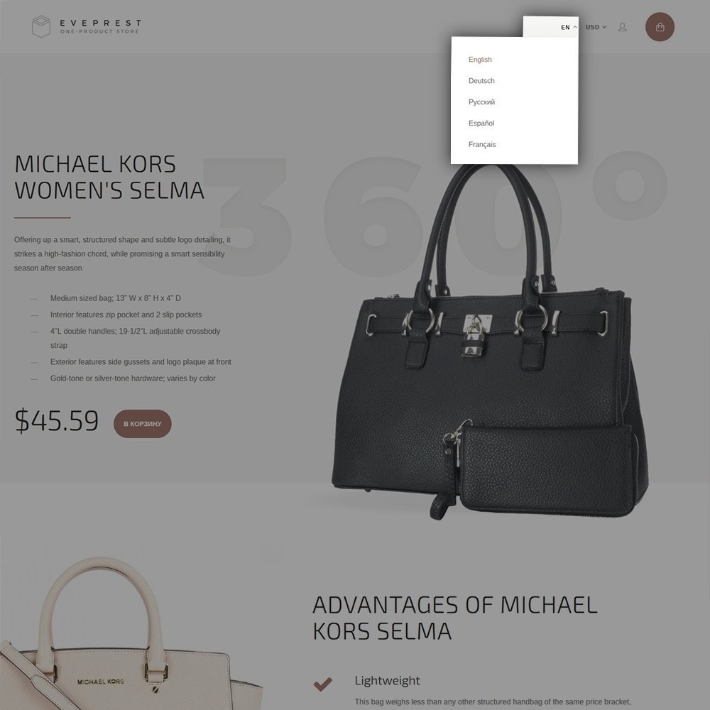 theme - Мода и обувь - Eveprest - One-Product Store - 6