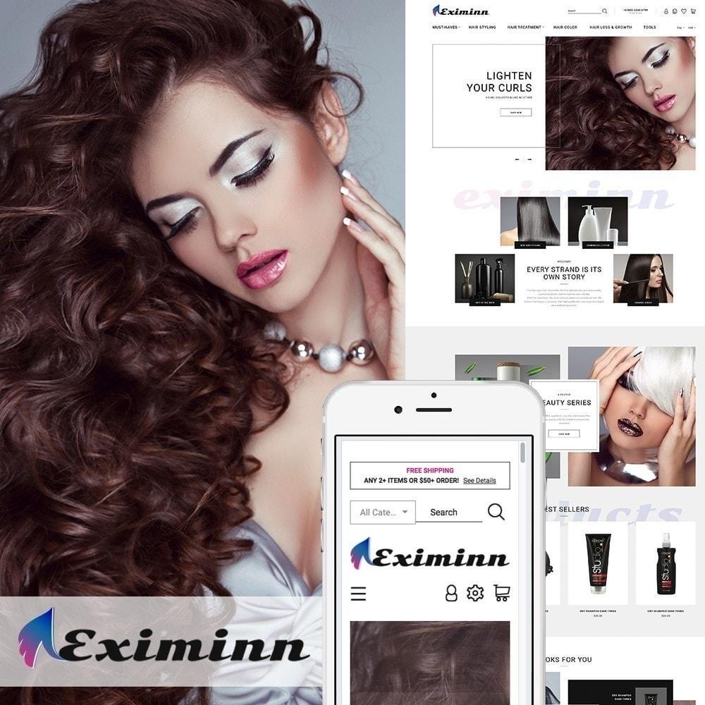 theme - Здоровье и красота - Eximinn - шаблон на тему парикмахерская - 2