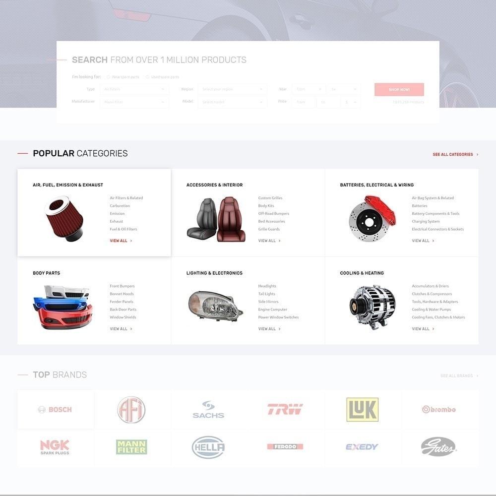 theme - Auto & Moto - Autotune - pour site de pièces automobiles - 5