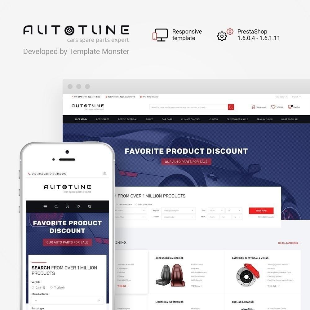 theme - Coches y Motos - Autotune - para Sitio de Repuestos de coches - 2