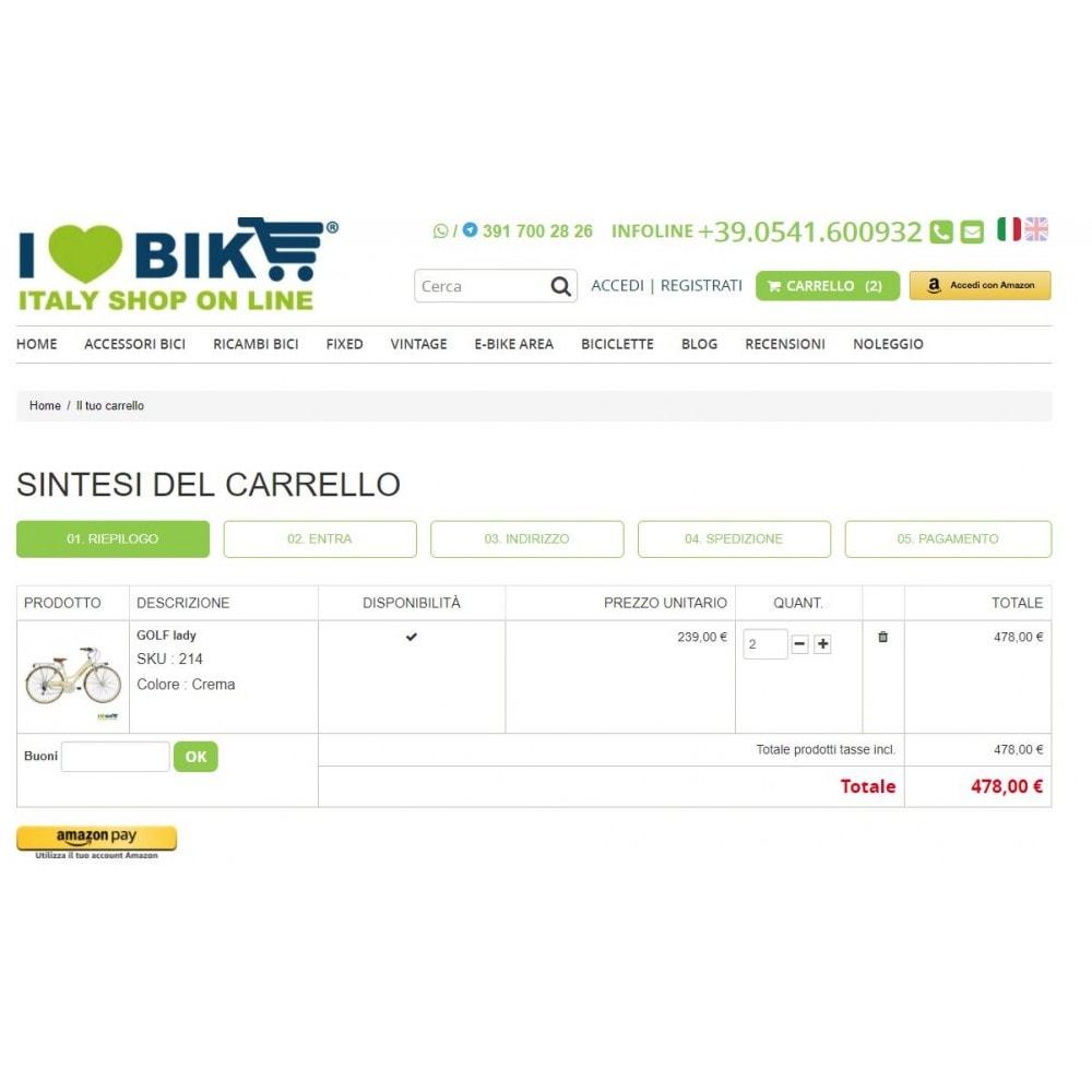 module - Pagamento con Carta di Credito o Wallet - Amazon Pay - 3
