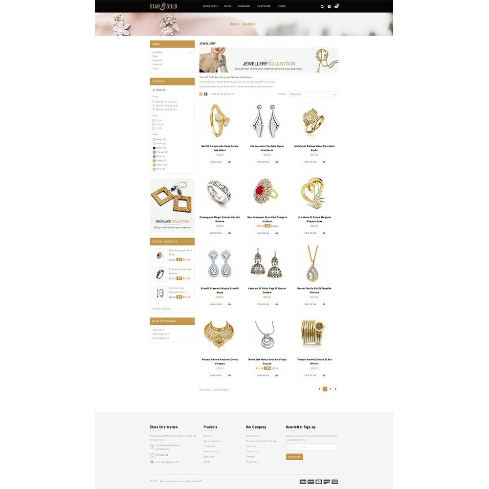 theme - Sieraden & Accessoires - Star Gold Jewellery Store - 3