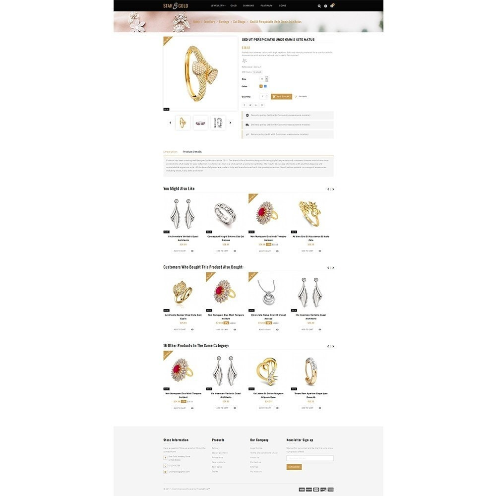 theme - Sieraden & Accessoires - Star Gold Jewellery Store - 5