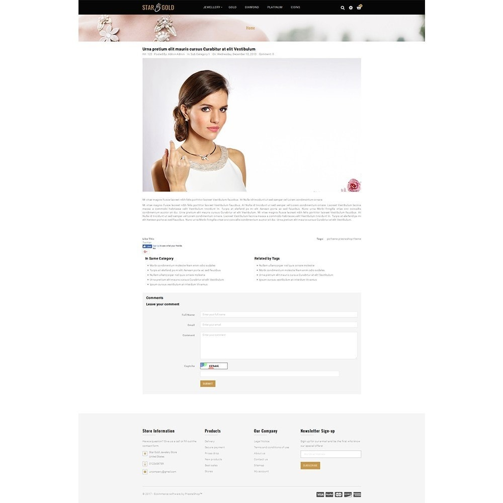 theme - Jewelry & Accessories - Star Gold Jewellery Store - 8