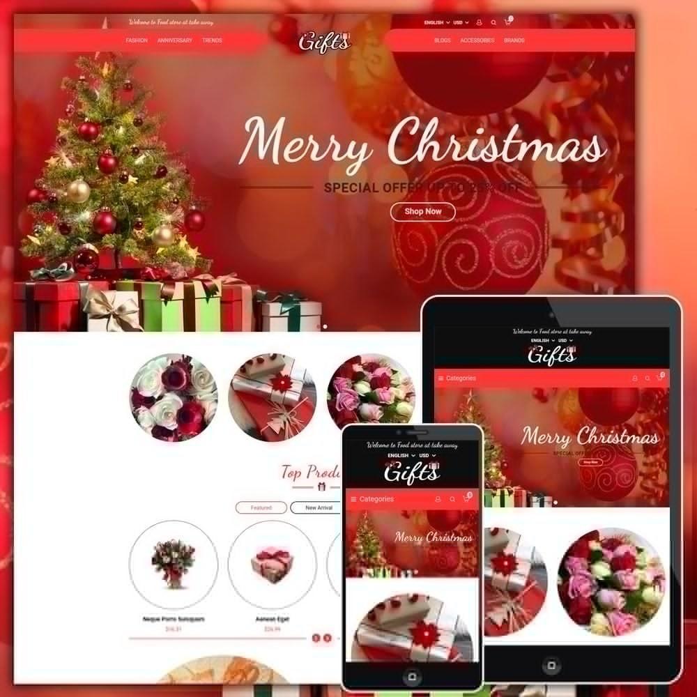theme - Presentes, Flores & Comemorações - Gift Shop - 1