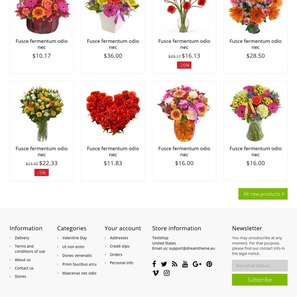 theme - Gifts, Flowers & Celebrations - FlowerShop - 5