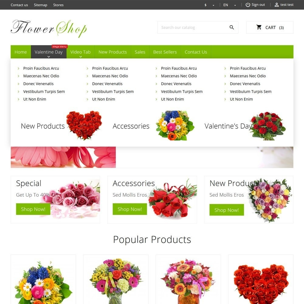 theme - Gifts, Flowers & Celebrations - FlowerShop - 6