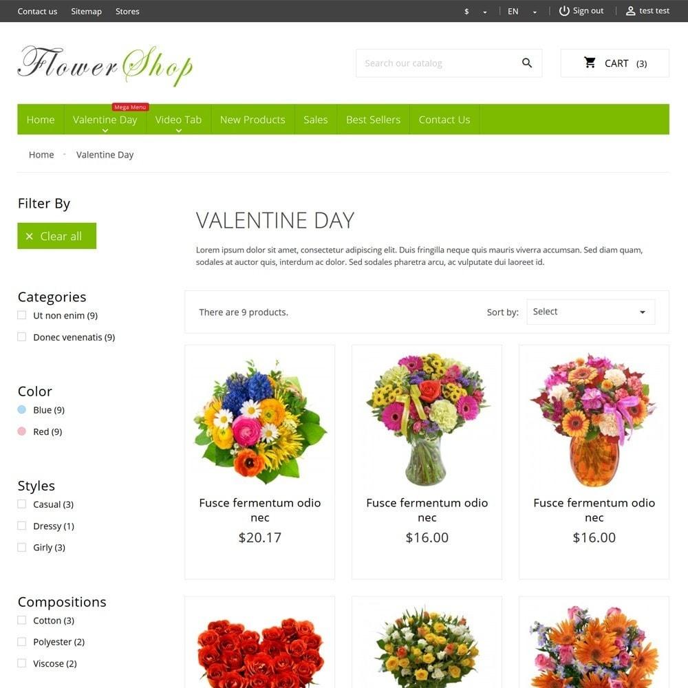 theme - Cadeaus, Bloemen & Gelegenheden - FlowerShop - 7