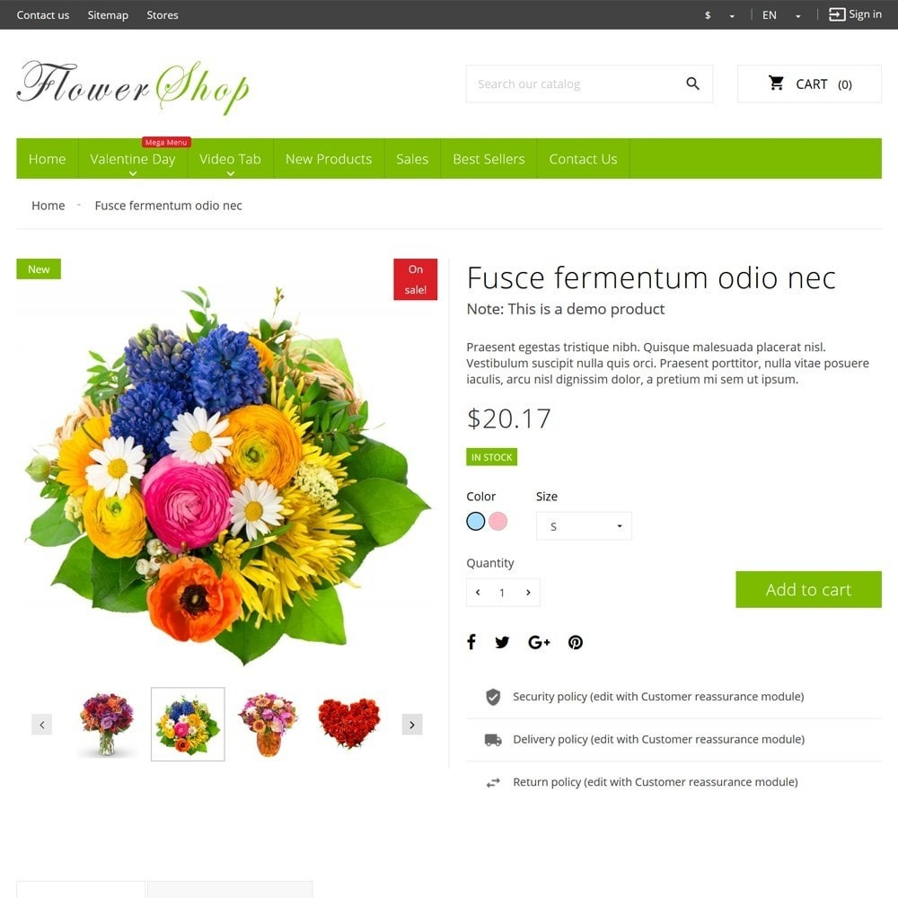 theme - Gifts, Flowers & Celebrations - FlowerShop - 8