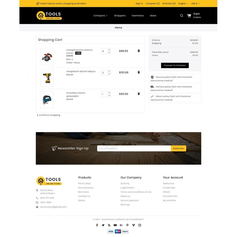 theme - Dom & Ogród - Tools Store - 6