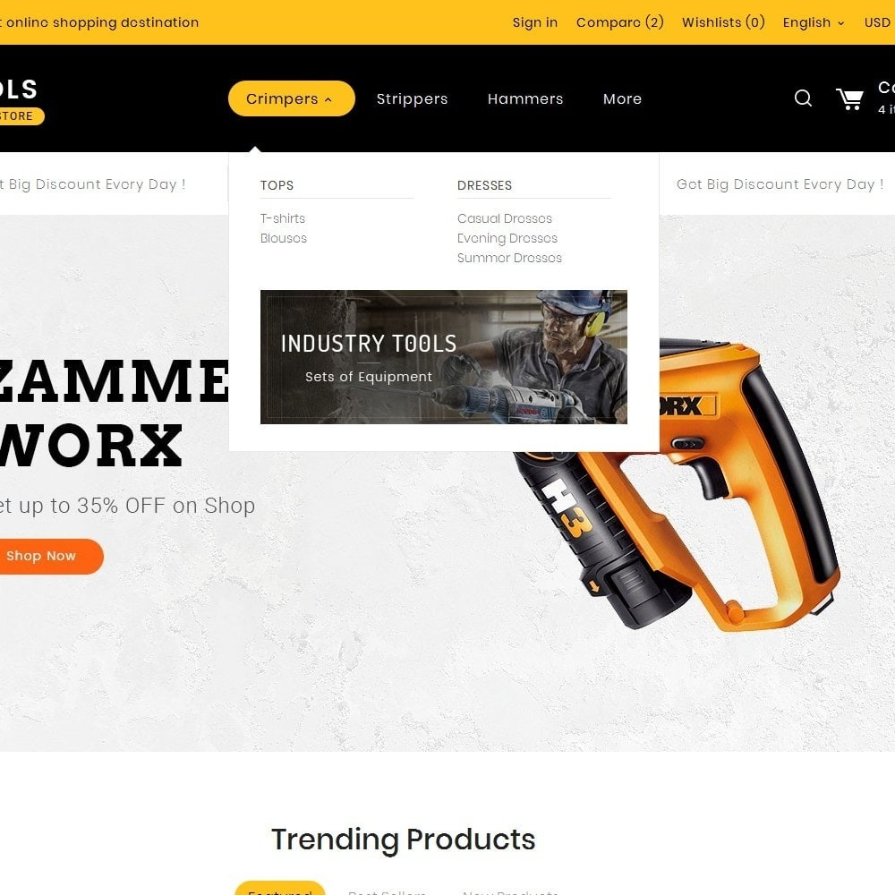 theme - Home & Garden - Tools Store - 8