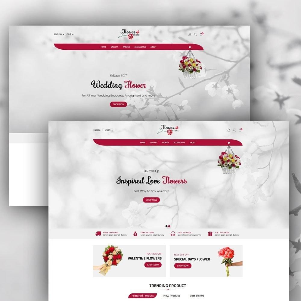 theme - Prezenty, Kwiaty & Uroczystości - Flower Store - 2