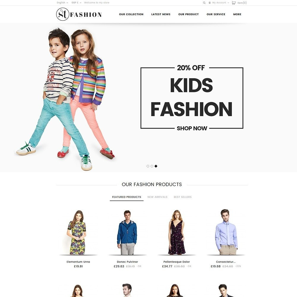 theme - Fashion & Shoes - ST Fashion Store - 2