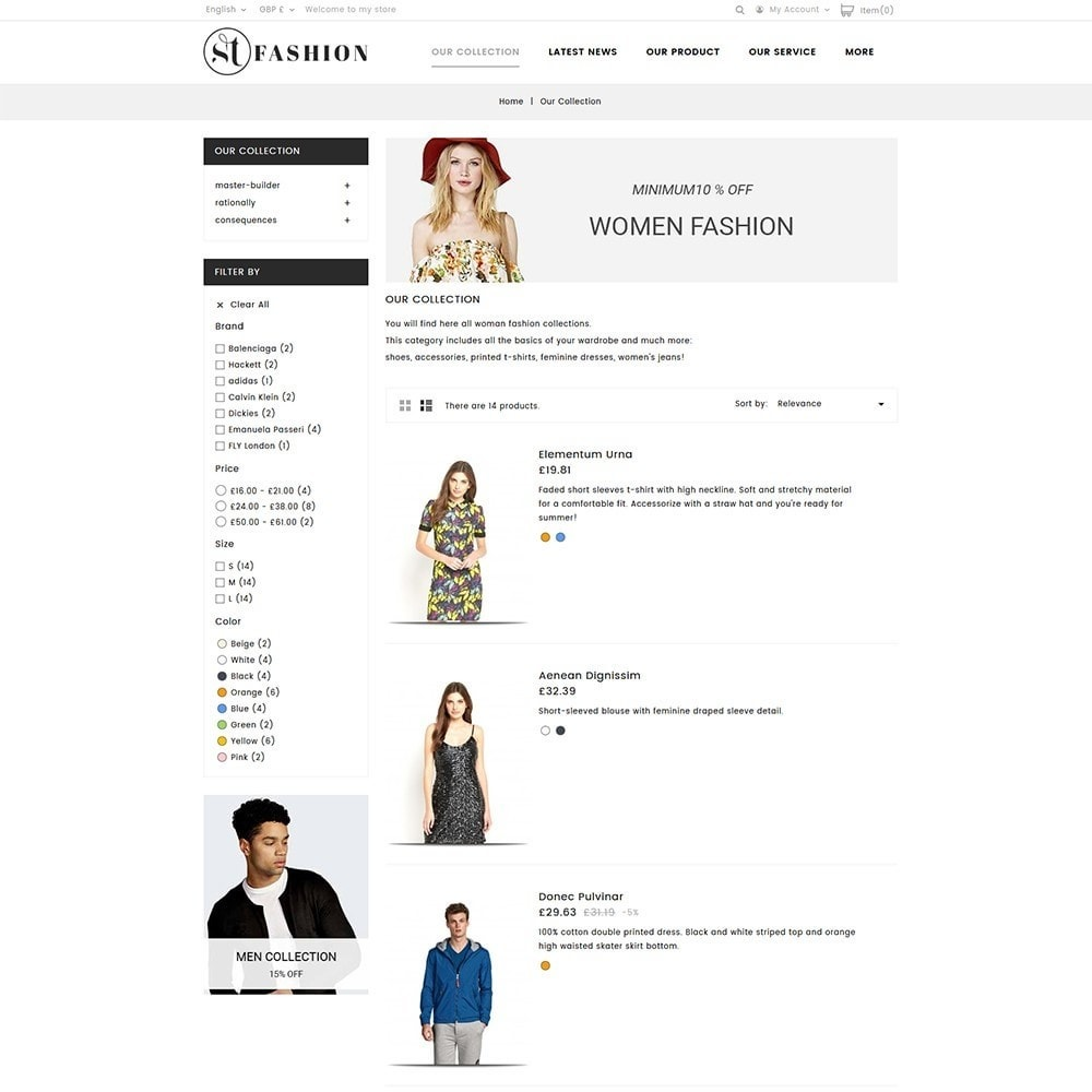theme - Fashion & Shoes - ST Fashion Store - 3