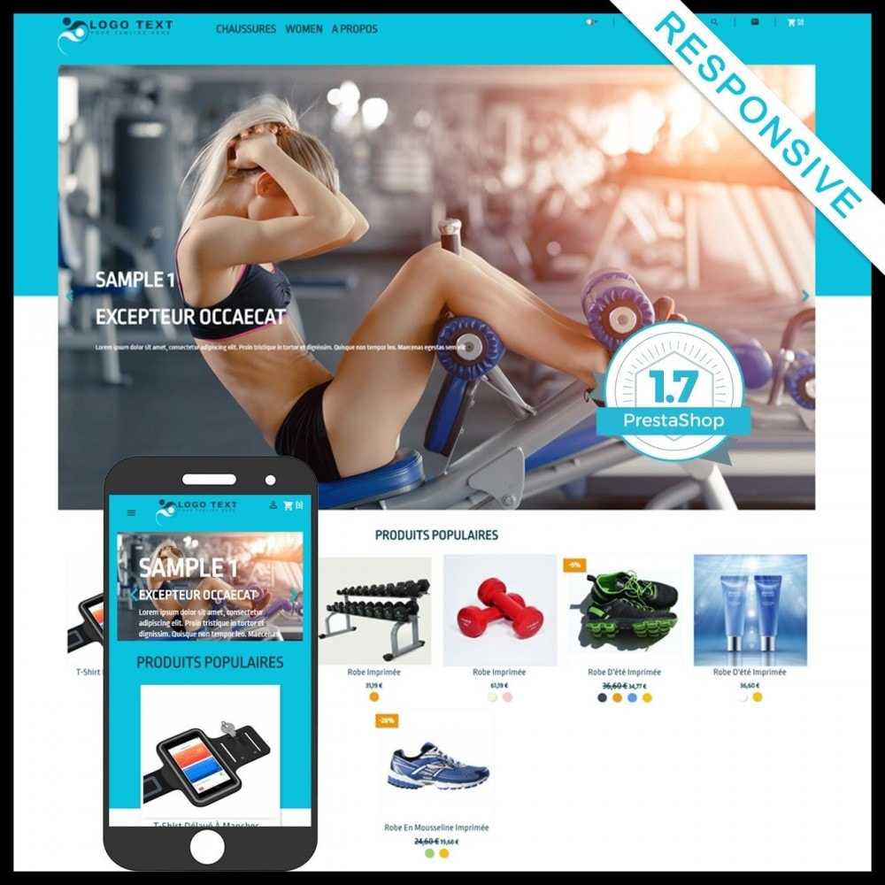 theme - Sport, Loisirs & Voyage - SportWep - 1