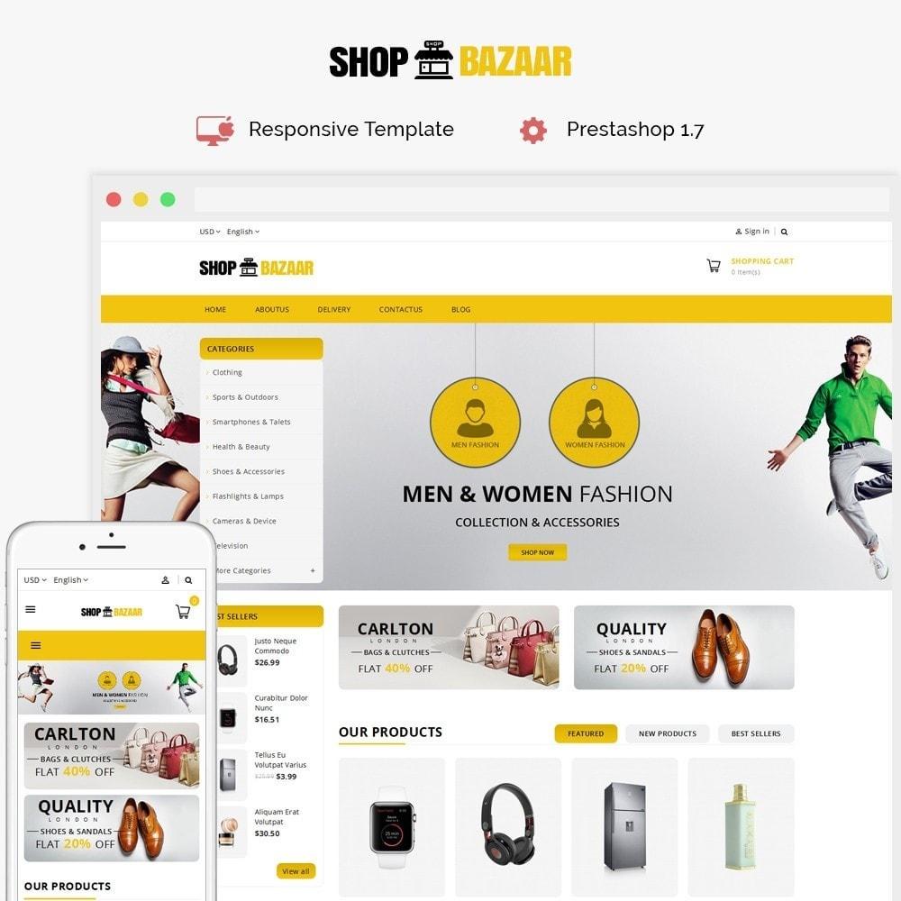 theme - Auto & Moto - ShopBazar Mega Store V4 - 1