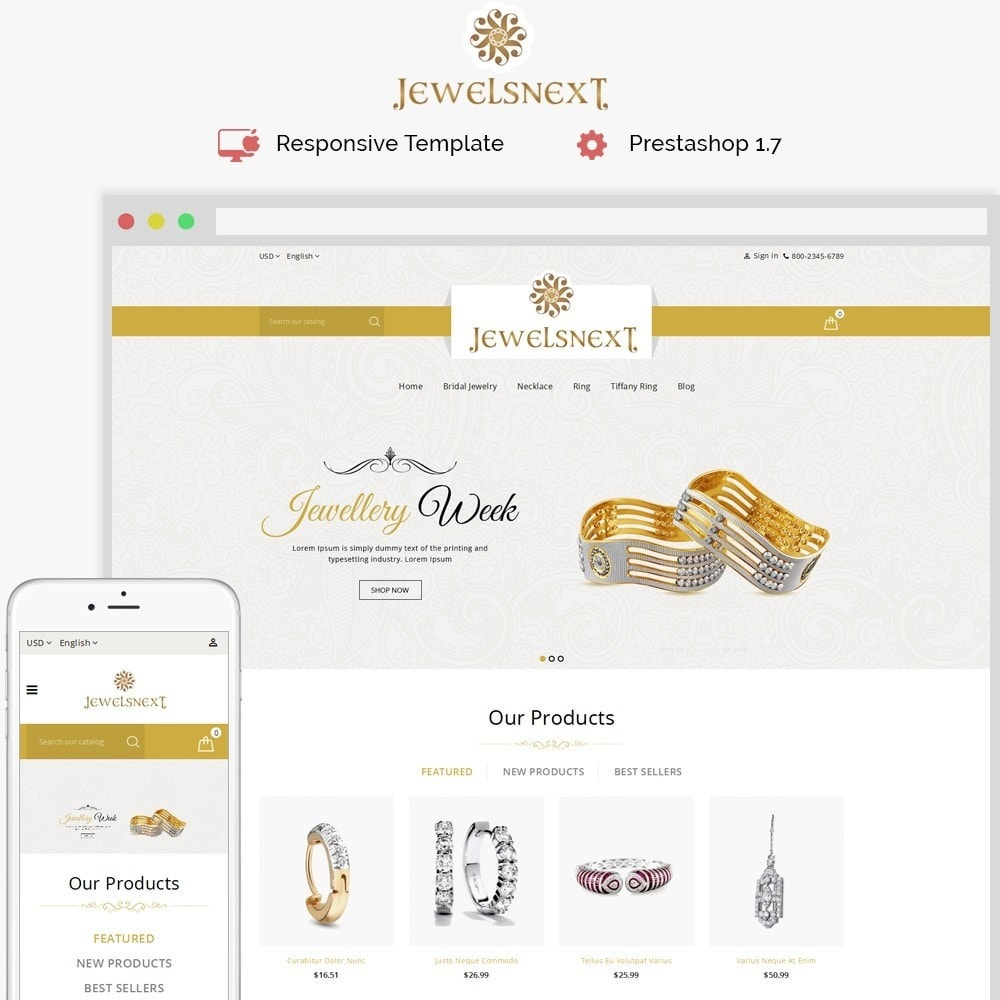 theme - Bellezza & Gioielli - Jewelsnext Jewelry Shop - 1