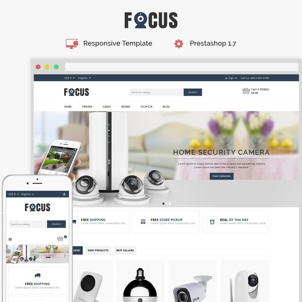 theme - Elektronica & High Tech - Focus -The Camera Shop - 1