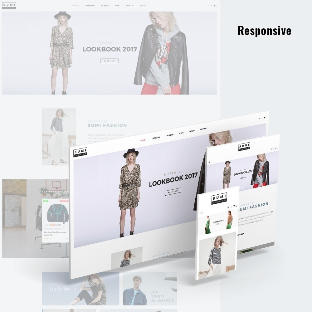 theme - Moda & Obuwie - At Sumi Fashion Multiple Prestashop Theme - 1
