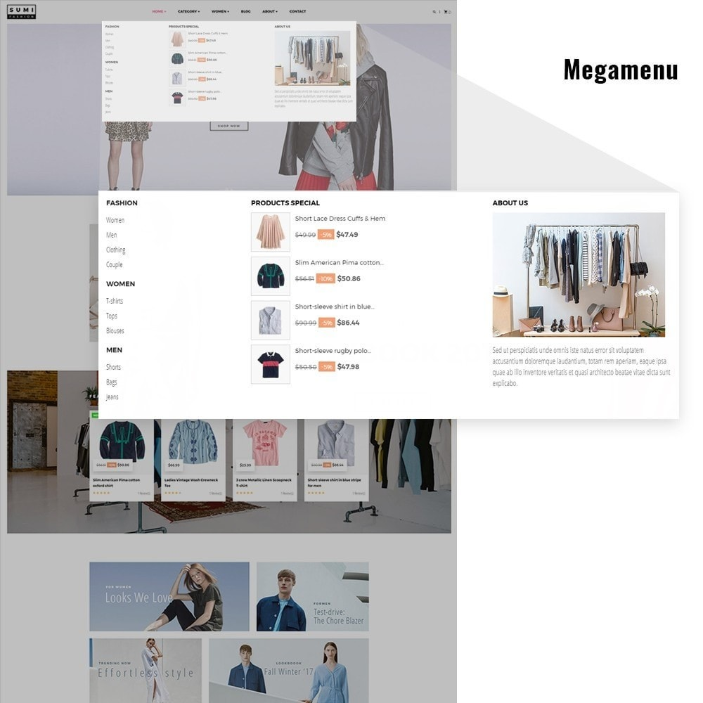 theme - Moda & Obuwie - At Sumi Fashion Multiple Prestashop Theme - 3