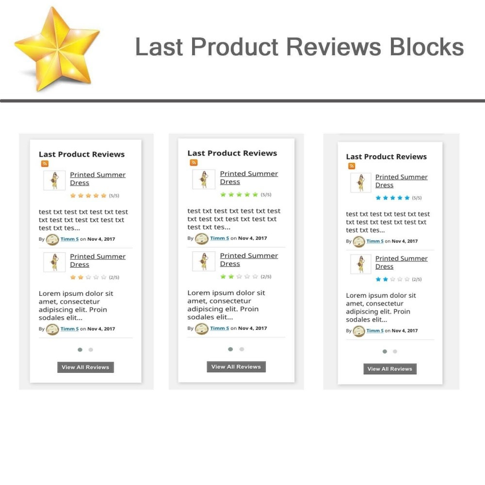 module - Customer Reviews - Product Reviews Advanced PRO + Reminder + User Profile - 8
