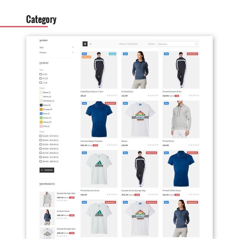 theme - Fashion & Shoes - Leo Das - Clothing & Sport - 5