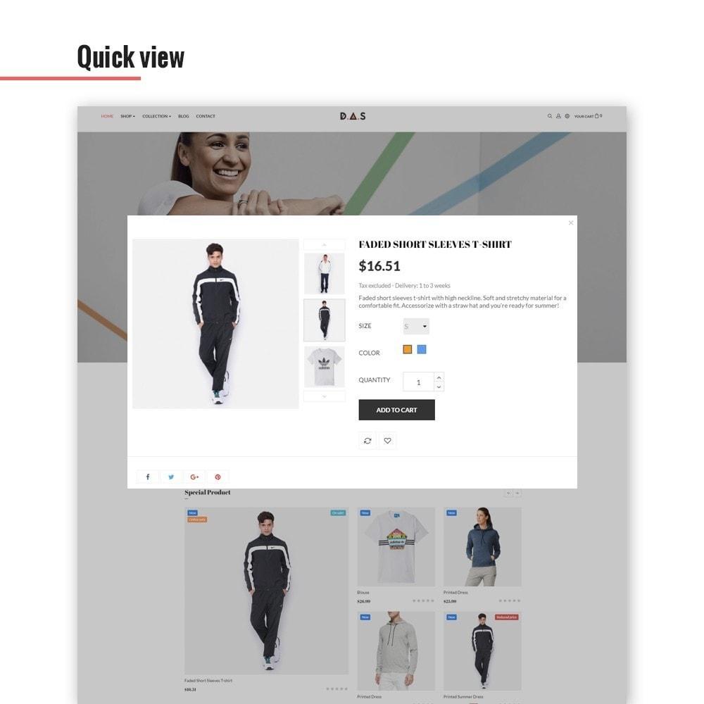 theme - Fashion & Shoes - Leo Das - Clothing & Sport - 6