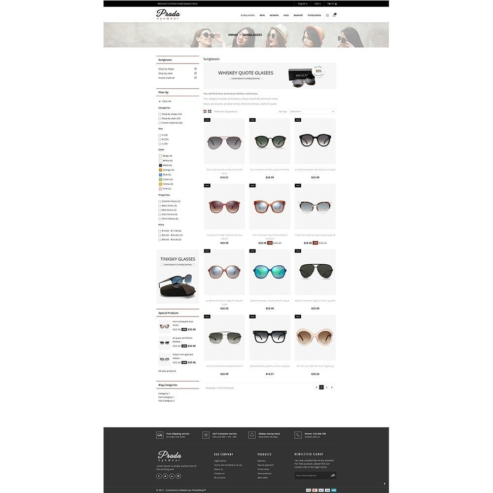 theme - Mode & Schuhe - Prada eyewear sunglasses store - 3