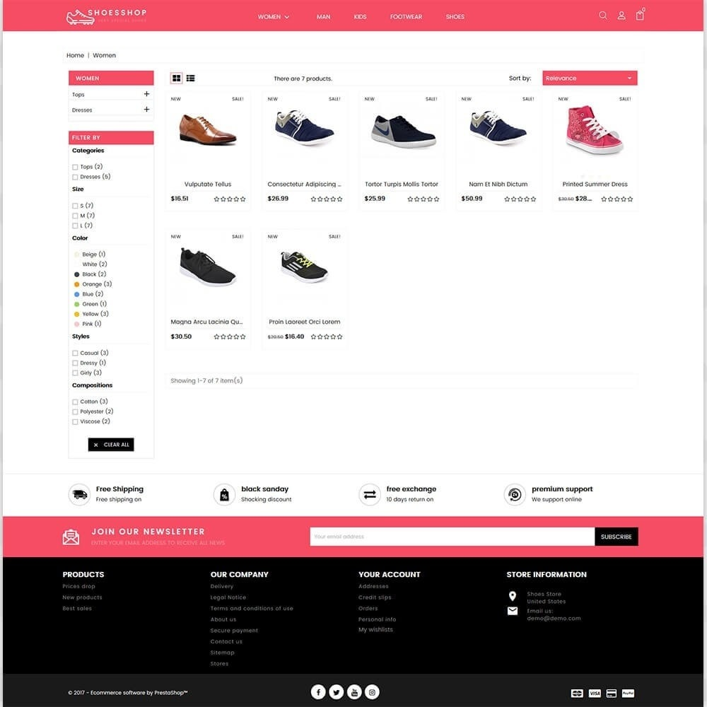 theme - Sports, Activities & Travel - Shoes Shop - Special Shoes Shop - 3