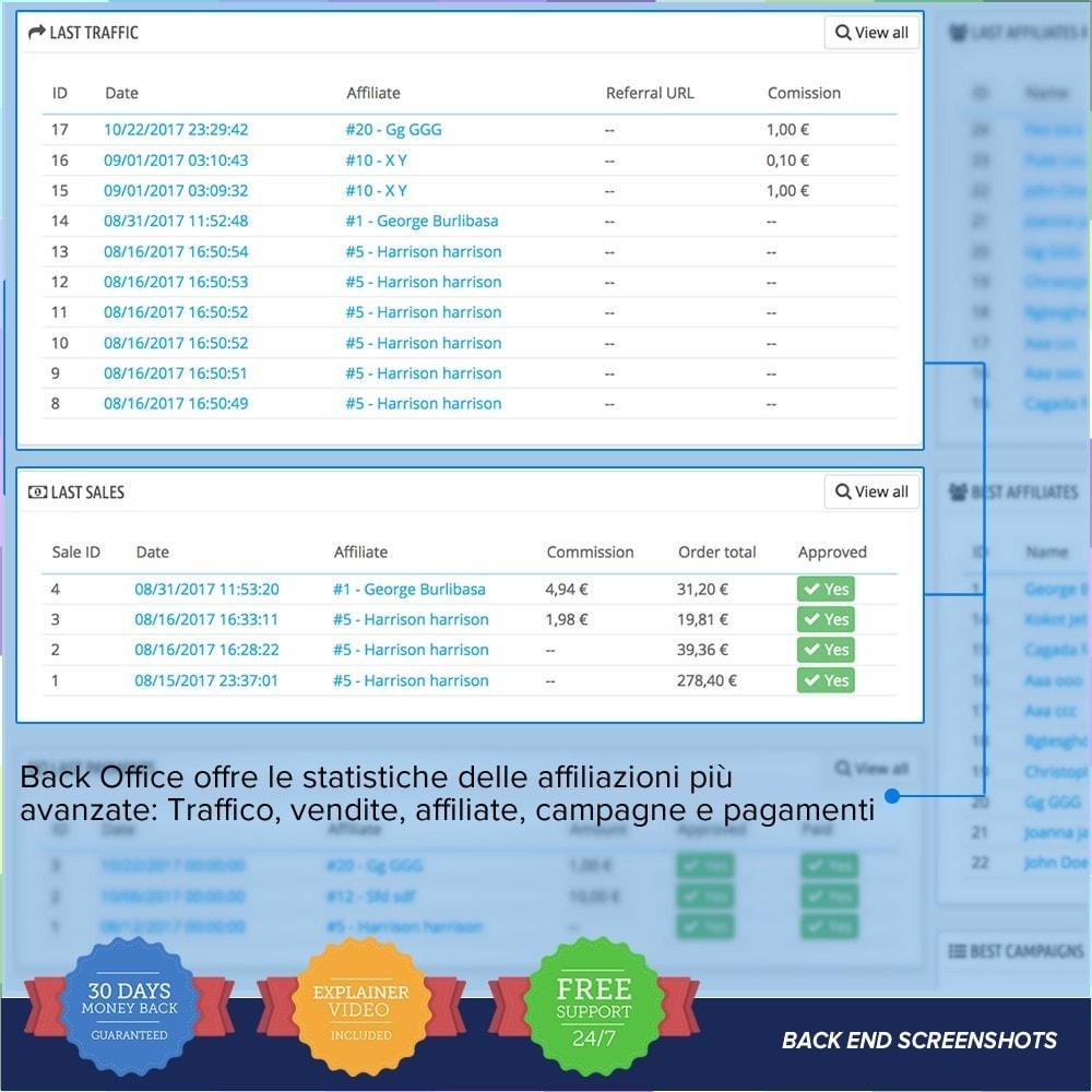 module - Indicizzazione a pagamento (SEA SEM) & Affiliazione - Full Affiliato PRO - 9