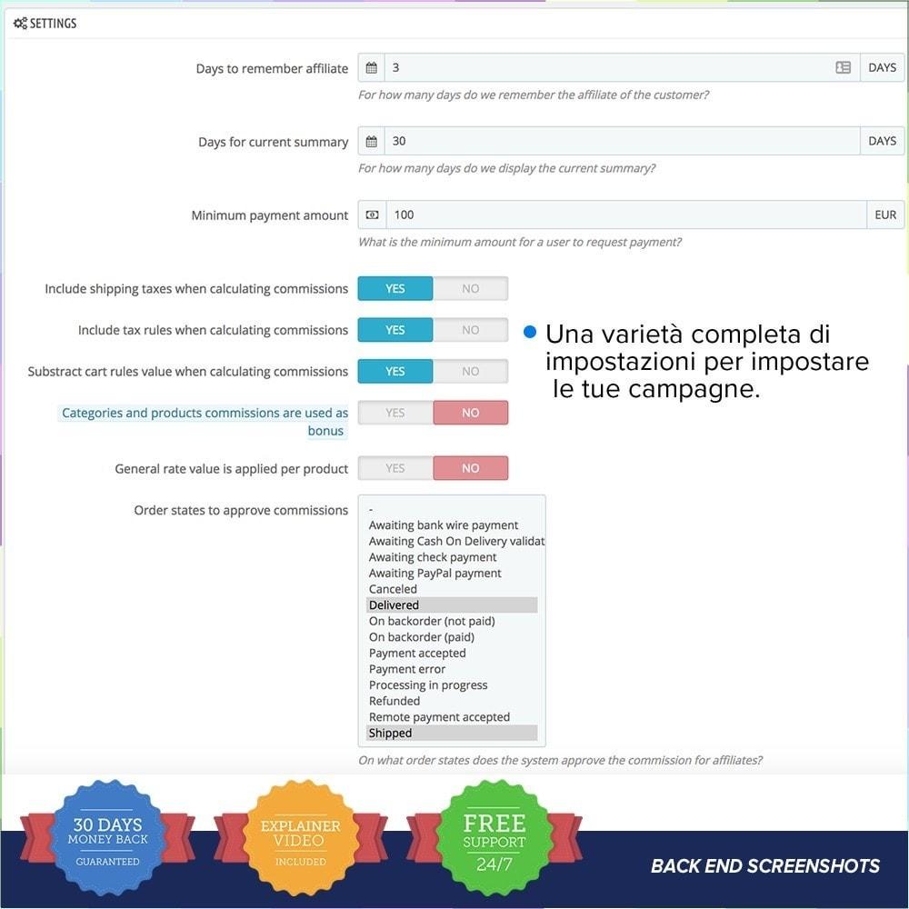module - Indicizzazione a pagamento (SEA SEM) & Affiliazione - Full Affiliato PRO - 11