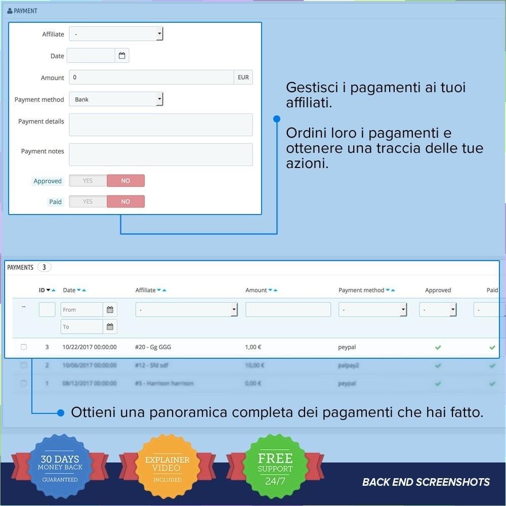 module - Indicizzazione a pagamento (SEA SEM) & Affiliazione - Full Affiliato PRO - 15